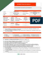 Informe Técnico Servicio MP-20I X25516D