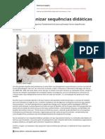 Como Organizar Sequencias Didaticas