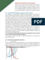LES CINQ OPTIONS DE POLITIQUE DE CHANGE (1)