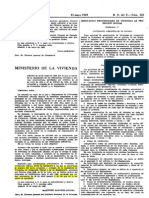 1 OM 20 05 1969. NORMAS DE DISEÑO (ordenanzas técnicas y constructivas)