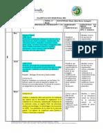 Planificación Semestral. Biología 2021