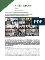 Norddeutsche Adventisten Beschließen Umsetzung Der Gleichberechtigten Ordination Von Pastorinnen