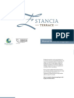 Manual de uso de logotipo de Estancia Terrace