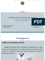 Diseño de BD Dpto. Adm. Clinica Amanecer