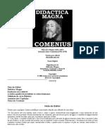 A Didactica Magna COMENIUS