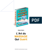 Art du massage qui guéri