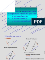 Matemática PPT - Geometria - Vetores