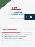 cours management I 2021