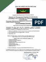 Avis d Attribution Provisoire DATA Center Tier III