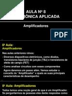 Eletrônica Aplicada Sem02 - Slides Aula 08 - Amplificadores
