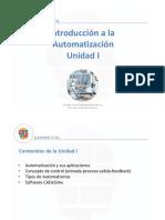Unidad I - Automatización y sus aplicaciones
