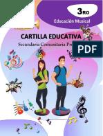 Cartilla 3ro.de Secundaria Educación Musical #2