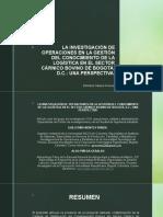 Presentación Articulo IO