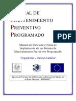 Mantenimiento Preventivo Programado[1]. Mayk
