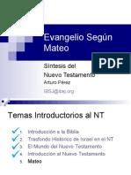 Evangelio según San Mateo