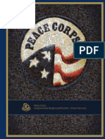 Peace Corps Congressional Budget Justification cbj 2011