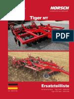 Horsch Tiger 3 MT Und 4 MT STarr-ET