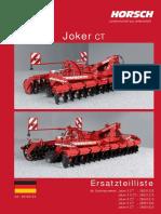 Horsch Joker 3-3,5-4-5-6 CT-ET