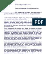 DS Etude de Document