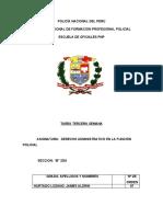 TAREA 3 DE DERECHO ADMINISTRATIVO EN LA FUNCIÓN POLICIAL