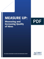 Measure Up-Measuring and Increasing Quality of Hires
