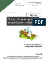 Ultrasons_Guide d'examen pour la certification initiale