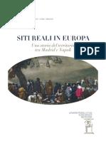 Siti Reali in Europa Una Storia Del Terr