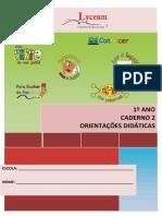 1 Ano Caderno 2 EPV Orientações Didáticas 2021