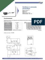 Oscillateur Pneumatique - AHR