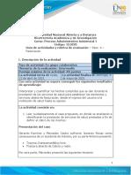 Guía de actividades y rúbrica de evaluación - Paso 4 - Facturación