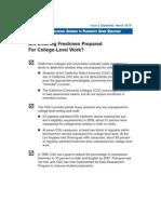CA Legislative Analyst's Office (LAO) Report