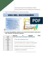 Guía de Español_Uso Del Diccionario (1)