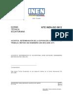 NORMA INEN ISO 9612