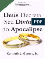 Deus Decreta Seu Divórcio no Apocalípse