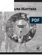 Peace Corps Trainer's Manual - Culture Matters