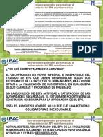 Instrucciones Voluntariado Reforestación Corre