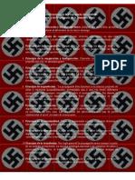 11 Principios de la propaganda nazi