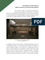 Entrelugares da modernidade na British Library de Yinka Shonibare MBE RA - Texto para o site do Museu Afro Brasil