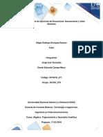 Desarrollo de ejercicios de Ecuaciones, Inecuaciones y Valor Absoluto