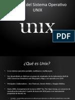 Orígenes del Sistema Operativo Unix