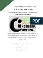 Plan de Marketing Para Comercializar Hortalizas de Origen Hidropónico Cultivado en UMADIS de Monteagudo
