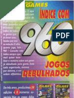 Ação Games Indice Ano III - 960 games debulhados