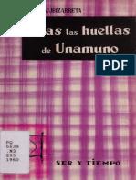 Zubizarreta, Armando (1960) - Tras las huellas de Unamuno