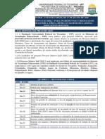 Edital 03 2020 - AberturaProcesso Seletivo Para Os Cursos de Quimica, Física, Música e Matemática) Retificado (1)
