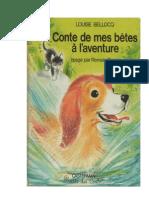 Langue Française Lecture Conte de mes bêtes à l'aventure
