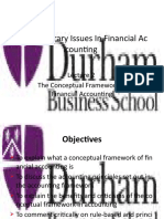Lecture 2 - The Conceptual Framework in Financial Accounting
