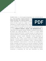MANDATO ESPECIAL JUDICIAL CON REPRESENTACION - KARLA TOC