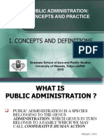 Public ad concepts and definitions