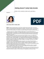 Ambush Marketing Article