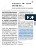 Reading #3 - Identifying Airborne Transmission